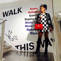 Monae at Fashion Week