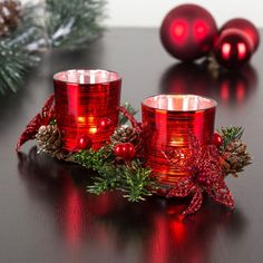 Our Christmas Votive Candle Holders will brighten up your decor this season.    Whether you're looking for stocking stuffers, Secret Santa presents, festive Christmas decor or even gift cards, we have a huge selection of unique holiday stuff to make your days and nights merry and bright.