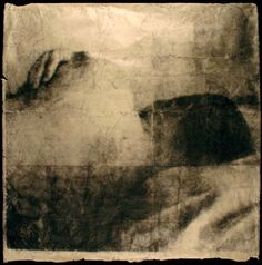 """""""The Mourning After, 2010""""/ By Christian Rogers/ (collage, solvent transfer on Japanese paper)"""