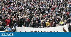 Los jubilados han salido en masa a las calles con un vigor que sobrepasa en frescura e intrepidez al de los jóvenes airados del 15-M