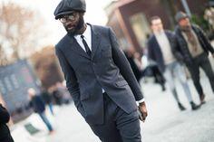 Pitti Uomo Fall 2014 Street Style