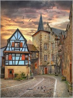 Kientzheim - Alsace - France by Jean-Michel Priaux