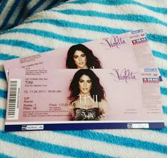 Tickets of Got me started tour <3