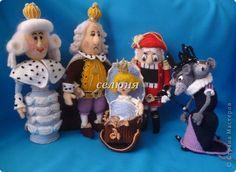 Игрушка Новый год Рождество Вязание крючком Рождественская сказка Щелкунчик Нитки фото 1