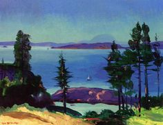 Day of Dreams, Maine circa 1913, George Wesley Bellows