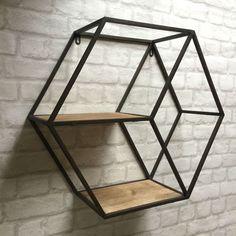 Vintage Industrial Style Metal Wall Shelf Unit Storage Cupboard Cabinet Rack | eBay