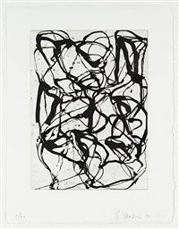 Han Shan Exit by Brice Marden