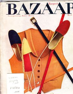 Alexey Brodovitch is remembered today as the art director of Harper's Bazaar for nearly a quarter of a century. Milton Glaser, Massimo Vignelli, Best Fashion Magazines, Alexey Brodovitch, Richard Avedon, Vintage Magazines, Harpers Bazaar, Strike A Pose, Vintage Shoes