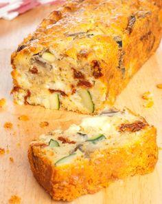 Cake sal v g talien l ger et savoureux recette - Recette cake sale vegetarien ...
