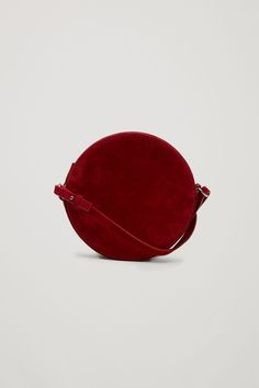 COS | Circular leather bag