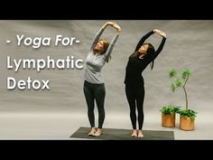 Yoga for the Lymphatic System Detox gives you a series of poses to clear the lymphatic system of toxins, boost the immune system and reduce inflammation in t. Liver Detox Drink, Liver Detox Cleanse, Detox Drinks, Detox Lymphatic System, Lymphatic Drainage Massage, Digestive Detox, Beginner Yoga, Advanced Yoga, Restorative Yoga