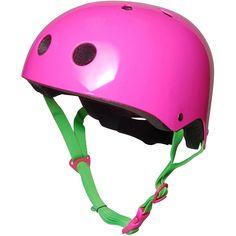 db4e44a8e Kiddimoto Kids Helmet - Pink Neon