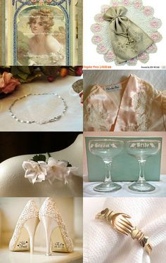 The Vintage Wedding by Marilyn on Etsy--Pinned with TreasuryPin.com