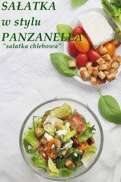 Sałatka chlebowa - Damsko-męskie spojrzenie na kuchnię Cobb Salad, Feta