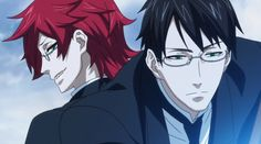 william spears grell sutcliff young - Google Search Lol, looks like Grell is staring at Will's Butt XD