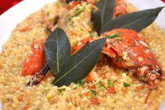 Il gusto delicato dell'aragosta viene raccolto dalla fregula che ne esalta il sapore