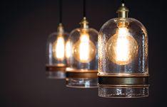 Mason Jar Lamp, Home Lighting, Light Bulb, Living Spaces, Modern Design, Furniture Design, Table Lamp, Home Decor, Table Lamps