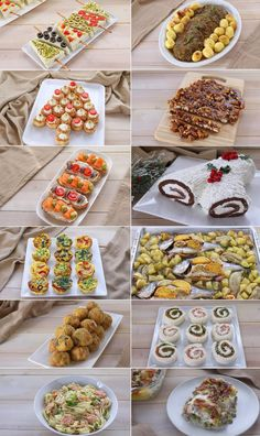 MENÙ DI NATALE 2018 di Benedetta. Tante ricette facili per il menù di Natale dall'antipasto al dolce. Christmas Dishes, Christmas Tea, Christmas Appetizers, Antipasto, Tapas, Decadent Cakes, Ricotta, Finger Foods, Italian Recipes