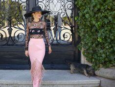 Tocas y pamelas boda Waist Skirt, Lace Skirt, High Waisted Skirt, Pamela, Skirts, Instagram Posts, Fashion, Party Wear, Headpieces