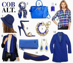 Fall Color Trend: Cobalt! http://www.sweetiepiepumpkinnoodle.com/2013/09/fall-color-trend-cobalt.html