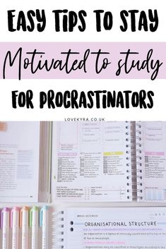 How to stay motivated to study, tips for procrastination, how to do well in examsYou can find Motivation to st. Best Study Tips, Exam Study Tips, Exams Tips, School Study Tips, Study Skills, School Tips, Study Tips For College, Best Study Methods, College Quiz