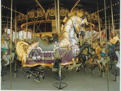 Euro Disney Mace Ball Carousel Horse  Paris, France  Carver: Joe Leonard