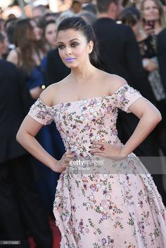 Aishwarya Rai attends a screening of 'From The Land And The Moon (Mal De Pierres)' at the annual Cannes Film Festival at Palais des Festivals on May 2016 in Cannes, France. Aishwarya Rai Cannes, Actress Aishwarya Rai, Aishwarya Rai Bachchan, Bollywood Actress, Palais Des Festivals, Cannes France, Cannes Film Festival, Bollywood Fashion, Islamic Quotes