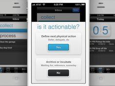 Walker - The Smartest Productivity App for the iPhone by Raul Rea, via Kickstarter.