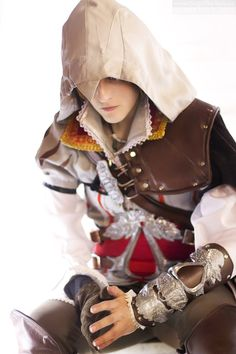 Ezio from Assassin's Creed 2.
