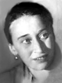 Nadezhda Mandelstam: author of Hope against Hope and Hope Abandoned, two of the greatest testaments to human endurance imaginable. Wife of Osip Mandelshtam, extraordinary Russian Poet.