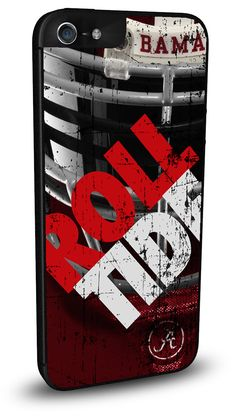 Alabama Crimson Tide Cell Phone Hard Case for iPhone 6, iPhone 6 Plus, iPhone 5/5s, iPhone SE, iPhone 4/4s or iPhone 5c