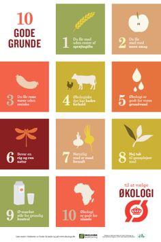 10 gode grunde til at vælge økologisk