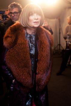 All hail the queen...Anna Wintour