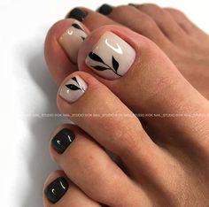 Pretty Toe Nails, Cute Toe Nails, Fancy Nails, Toe Nail Color, Toe Nail Art, Nail Colors, Shellac Nails, Manicure And Pedicure, Pedicure Ideas