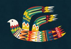 Poster | NATIVE BIRD von Budi Kwan | more posters at http://moreposter.de