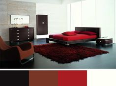 Modern Bedroom Furniture Red Rug Stunning Mens Bedroom Ideas In Red Color  Of Mattress On Red Rug Design Idea