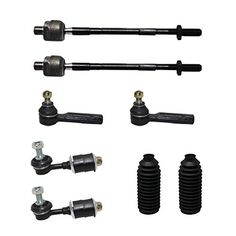8 Pc New Suspension Kit for Ford F-150 Lincoln Mark LT Front Outer Inner Tie Rod Ends Lower Ball Joint Sway Bars 4x4 New Style Models
