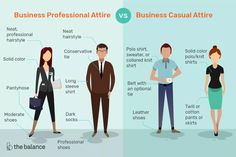 Learn about the differences between business casual and business professional attire, along with tips on what not to wear. Dress for the job you want. Business Casual Dresscode, What Is Business Casual, Summer Business Attire, Business Casual Dresses, Business Outfits, Business Formal, Professional Dress Code, Business Professional Attire, Casual Professional