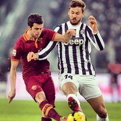 Juventus vs Roma Llorente