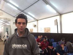 Mika for UNHCR tweeted by @khaled_kabbara Dec 21 2015 of Mika arrived in Lebanon