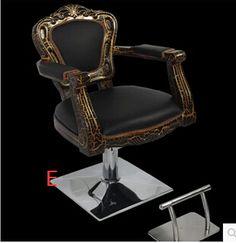 Tipo de europa que restaura maneras antiguas silla de peluquería. de alto grado de belleza cuidado de la silla. la silla corte de pelo