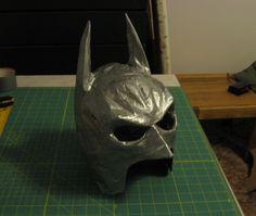 DIY Tutorial: DIY Duct Tape Batman Mask