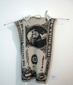 Knit your own money.