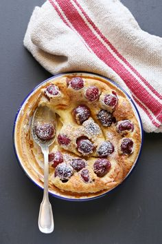 Cherry Clafoutis for