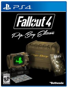 Fallout 4 Pipboy Edition PS4 Game + Vault Tech Bobblehead Unarmed Figure Canada