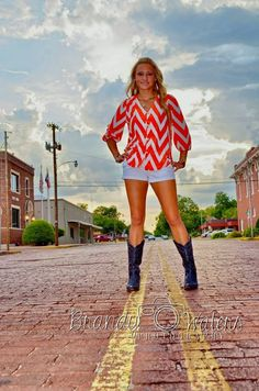 senior pictures Texas style