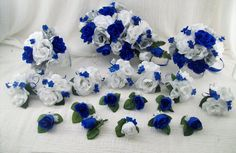 Image result for wedding flowers royal blue