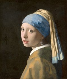 Johannes Vermeer, Girl with a Pearl Earring, c. 1665