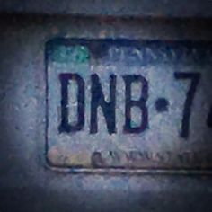 I want a #dnb license plate!