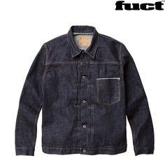 FUCT ( ファクト )/ デニムジャケット 岡山デニム HEAVY WEIGHT DENIM JACKET MADE IN JAPAN ( RINCE )